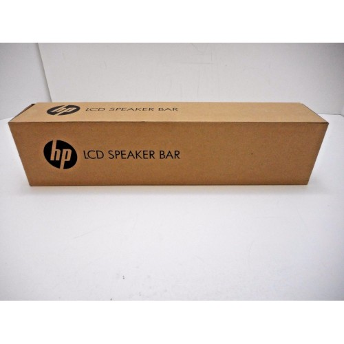 HP BLACK LCD FLAT PANEL SPEAKER BAR P//N NQ576AA NEW IN BOX